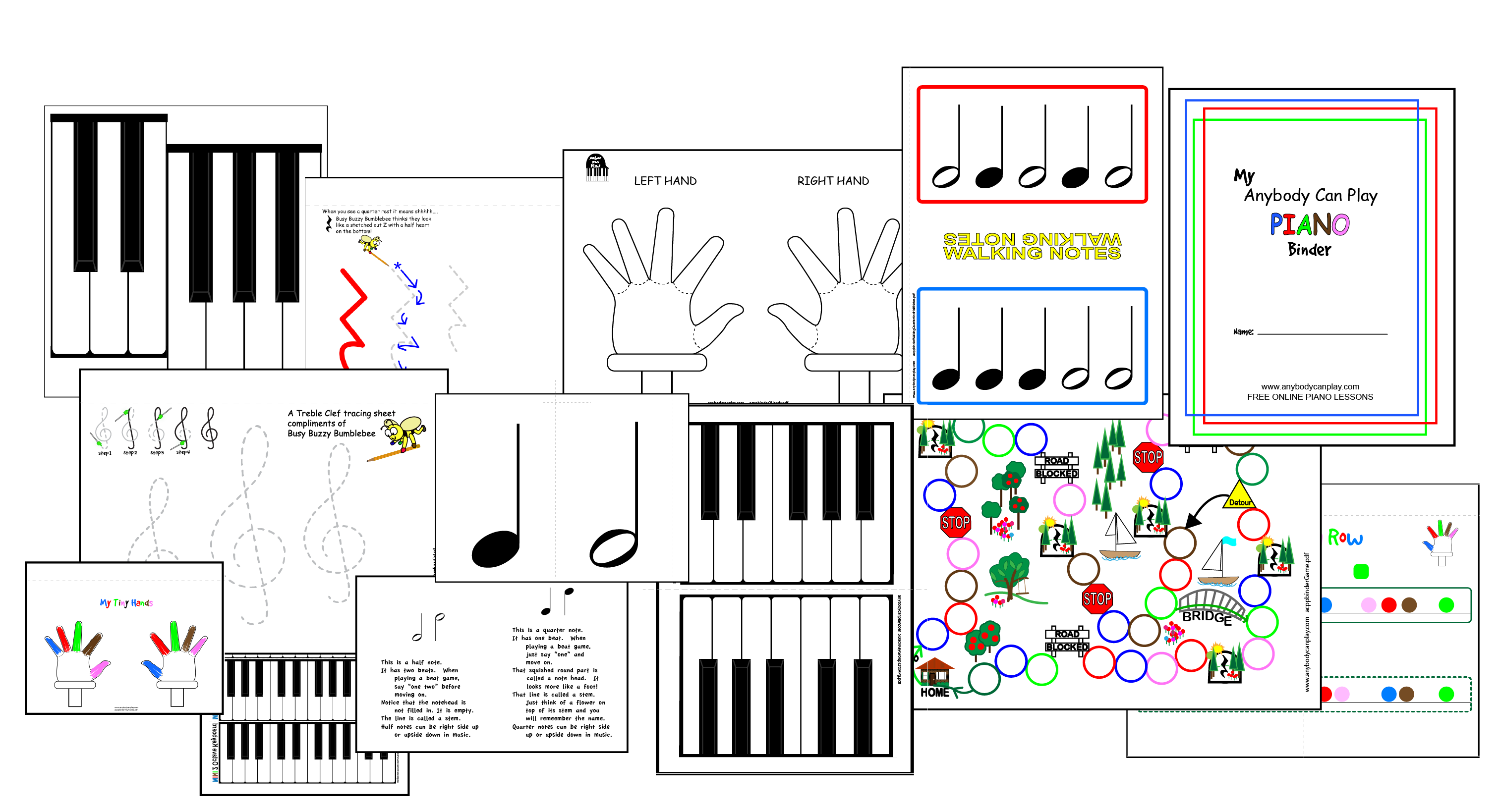 Anybody Can Play Piano